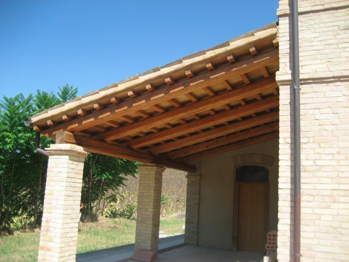 Casale rustico in vendita a ripe 295000 rif c71 v for Piani di progettazione portico