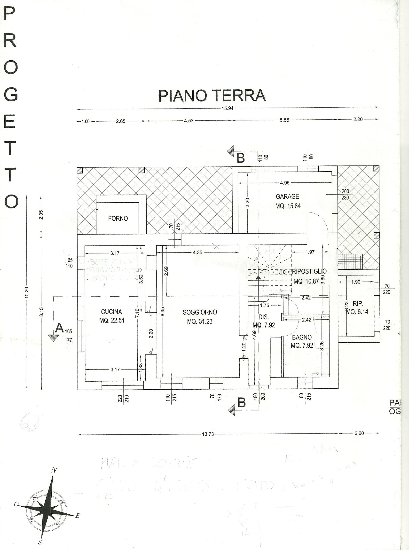 villa abitazione in vendita a monterado euro 490000 rif ForPlanimetrie Piano Piano Gratuito